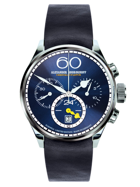 Alexander Shorokhoff - VINTAGE 2 - Twenty four Chrono - night-blue