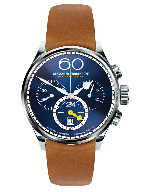"Alexander Shorokhoff - VINTAGE 2 - ""Twenty four Chrono"" - Night-Blue"