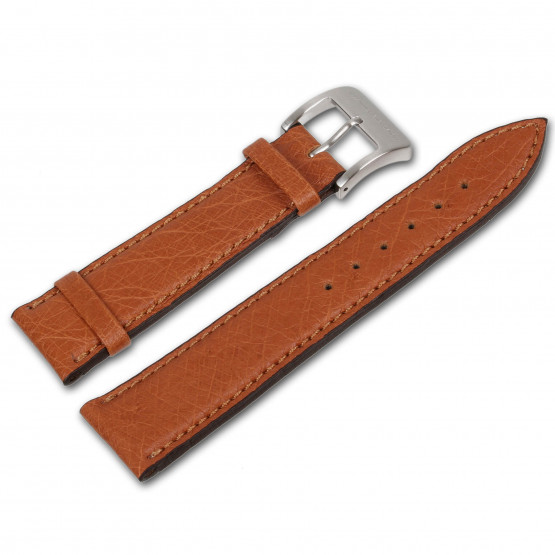 Genuine ostrich leather strap