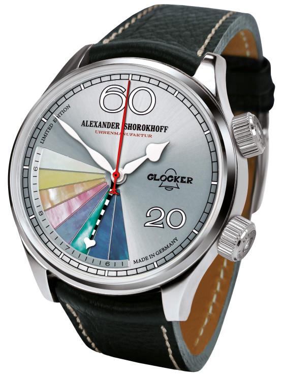 Avantgarde – Alarm clock Glocker – Grey