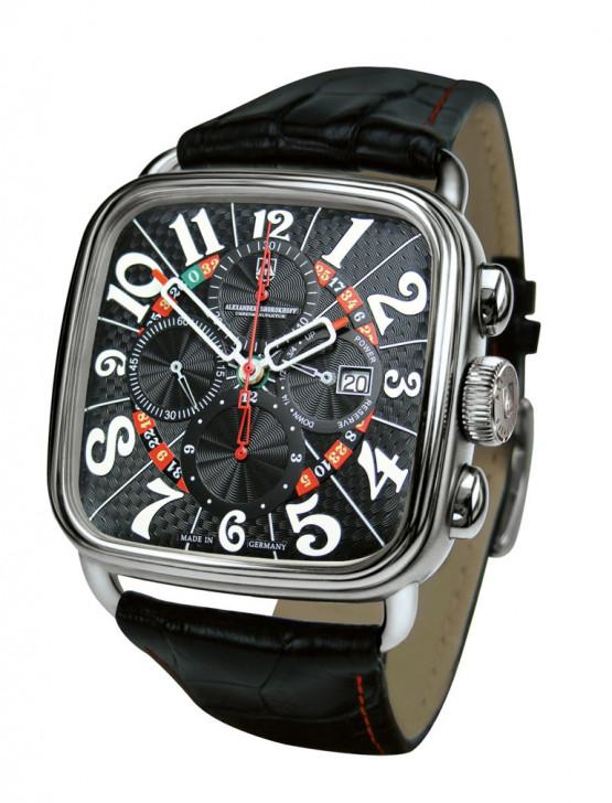 Alexander Shorokhoff - Automatic winding chronograph – Dostoevsky – Black
